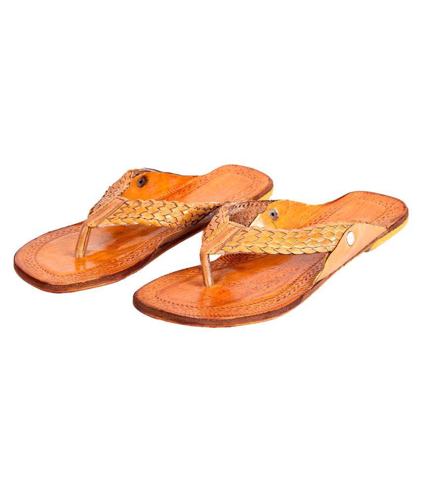 Deal Done Brown Platforms Ethnic Footwear