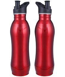 Lovato Caption Cool Red 500 Ml School Bottle Set Of 2
