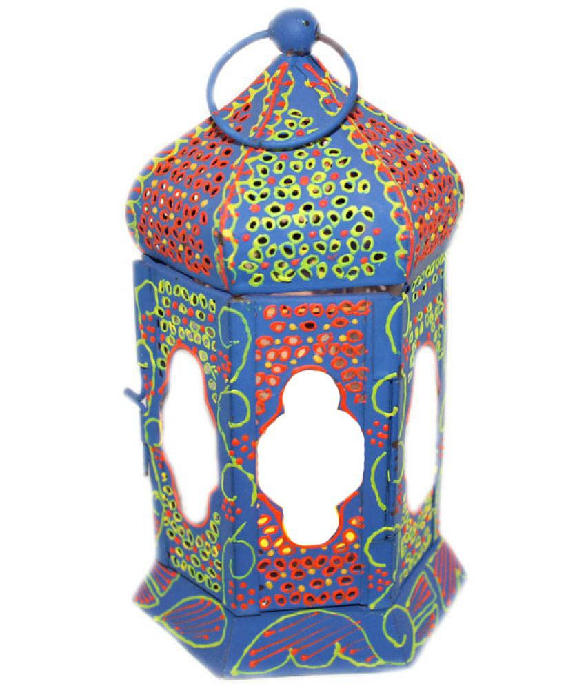 Sarvsiddhi Table Top Lanterns 18 cm   Pack of 1