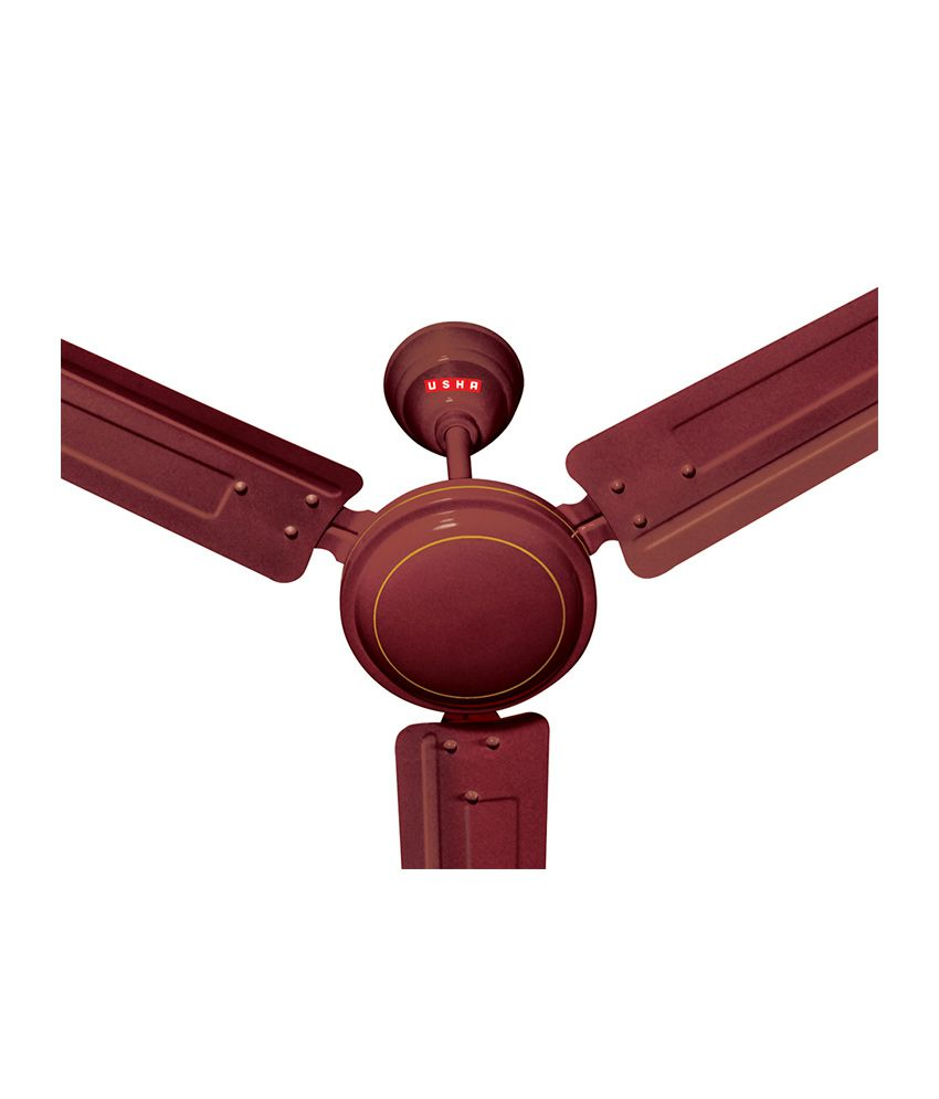 Price To Install Ceiling Fan: Usha 1200 Mm Swift Ceiling Fan Brown Price In India