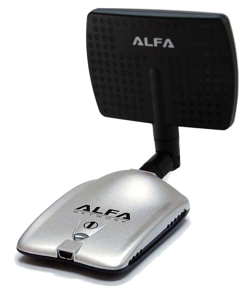 Alfa AWUS036H + 7dbi Panel 1200 RJ11