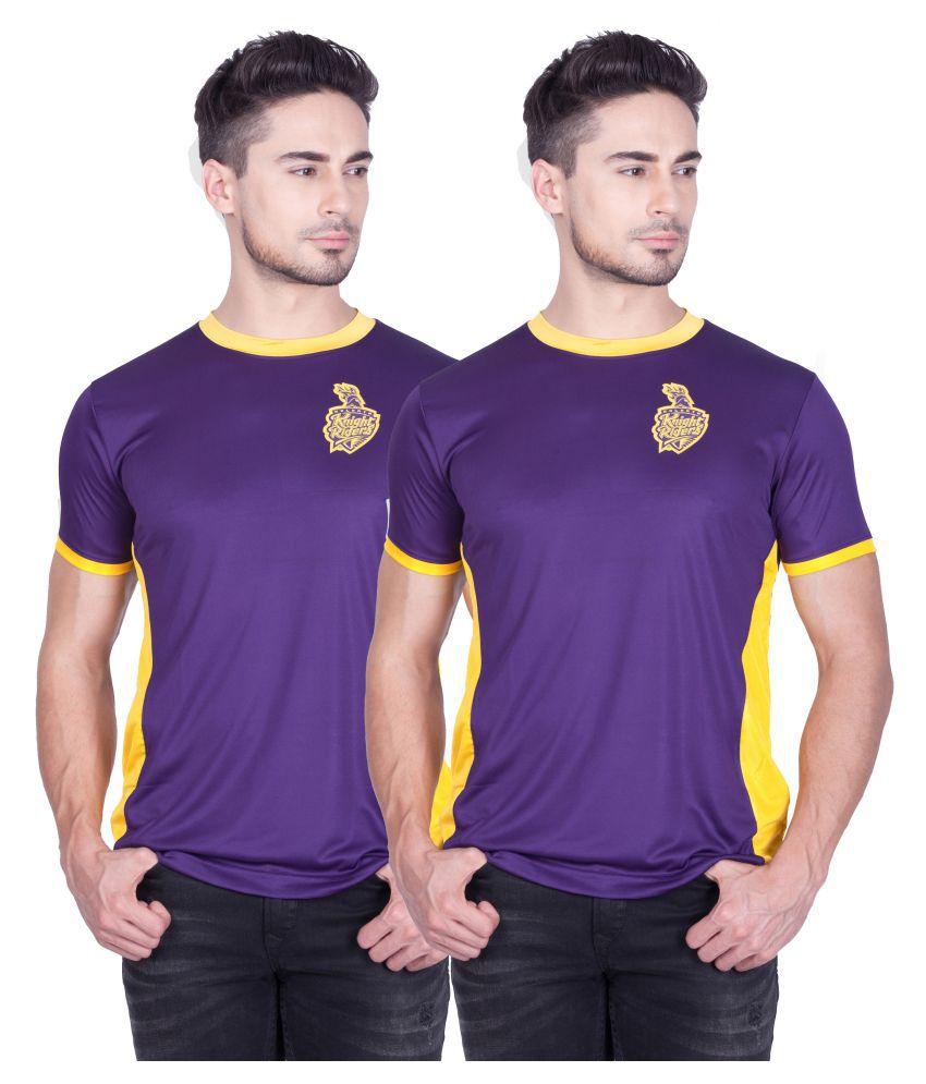 Kolkata Knight Riders Pack of 2 TShirts