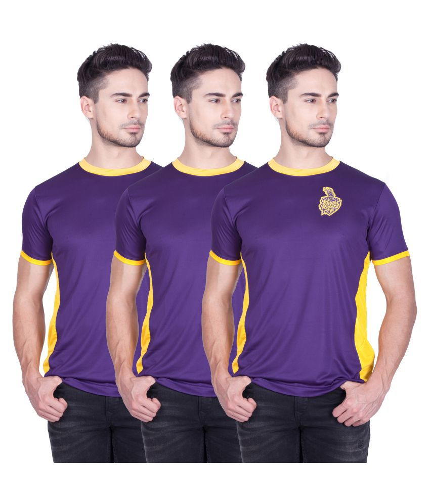 Kolkata Knight Riders Pack of 3 TShirts