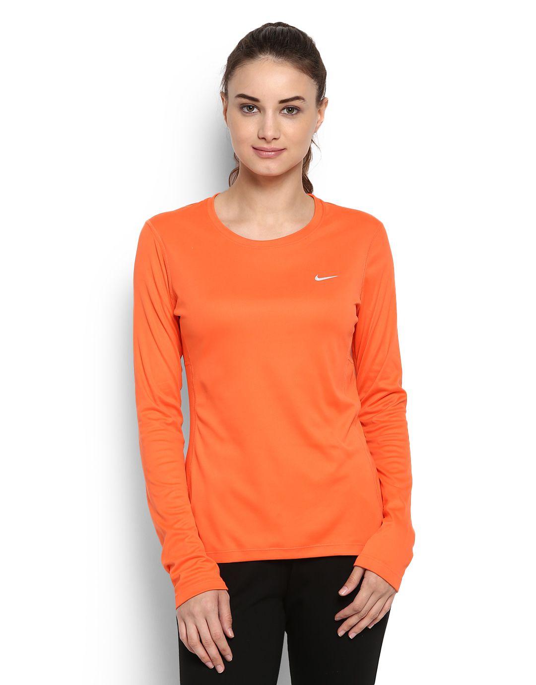 Nike Orange Tops