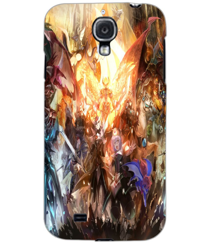 Samsung Galaxy S4 Printed Cover By PRINTSWAG