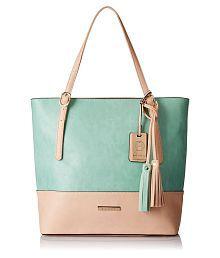 Stella Ricci Green P.U. Shoulder Bag