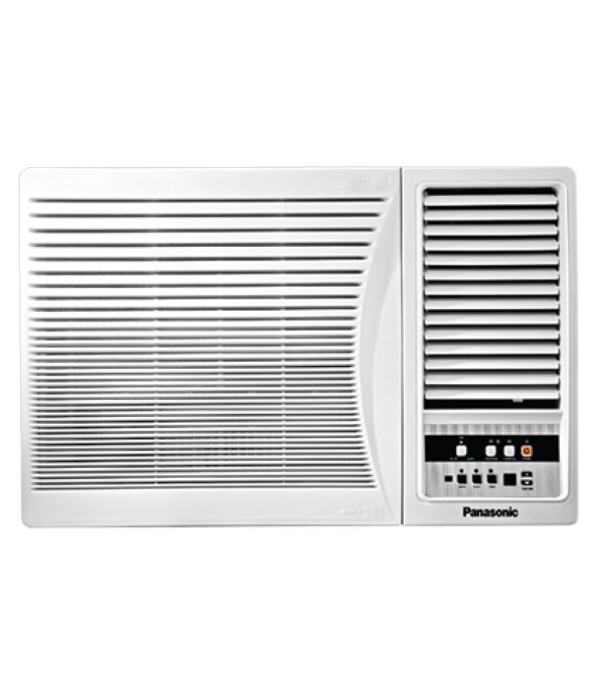 Panasonic 1 5 ton 5 star tc 1817 ya window air conditioner for 1 5 ton window air conditioner