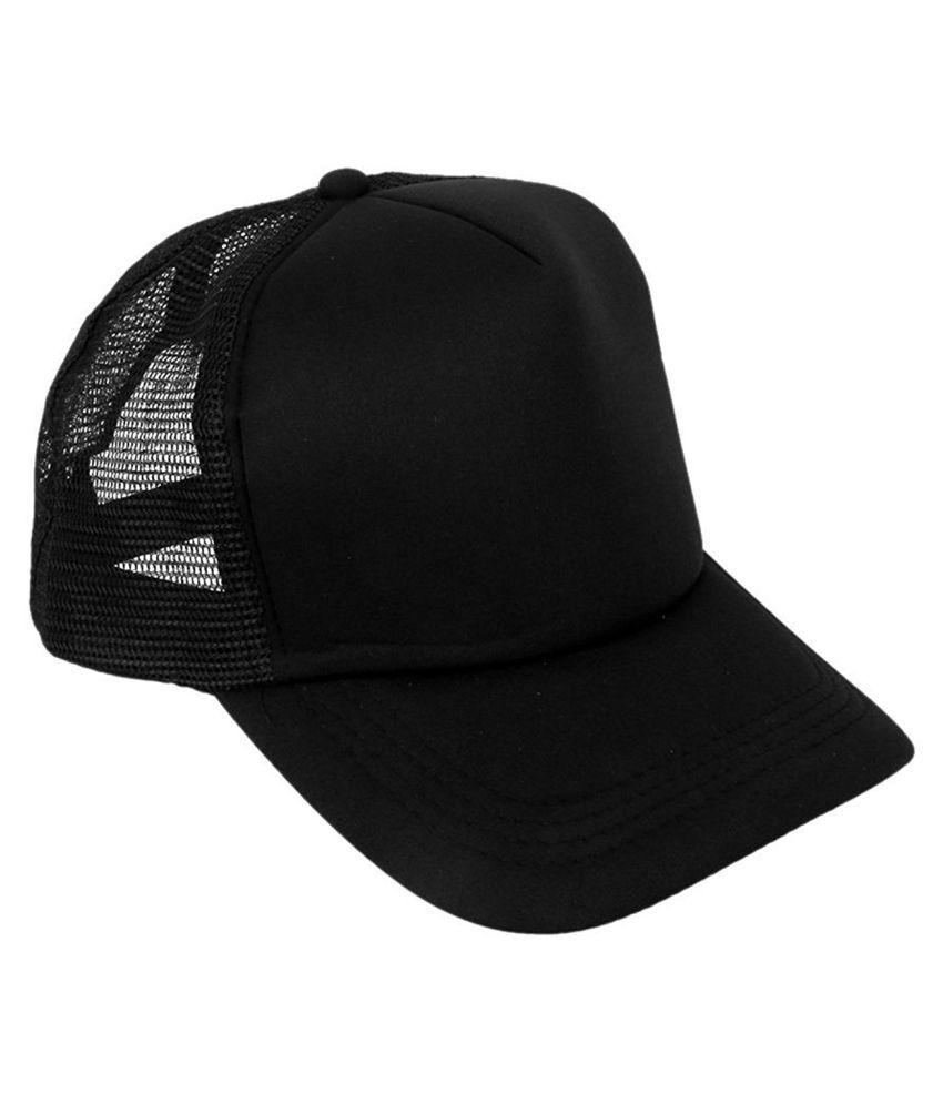 MSC Black Polyester Caps