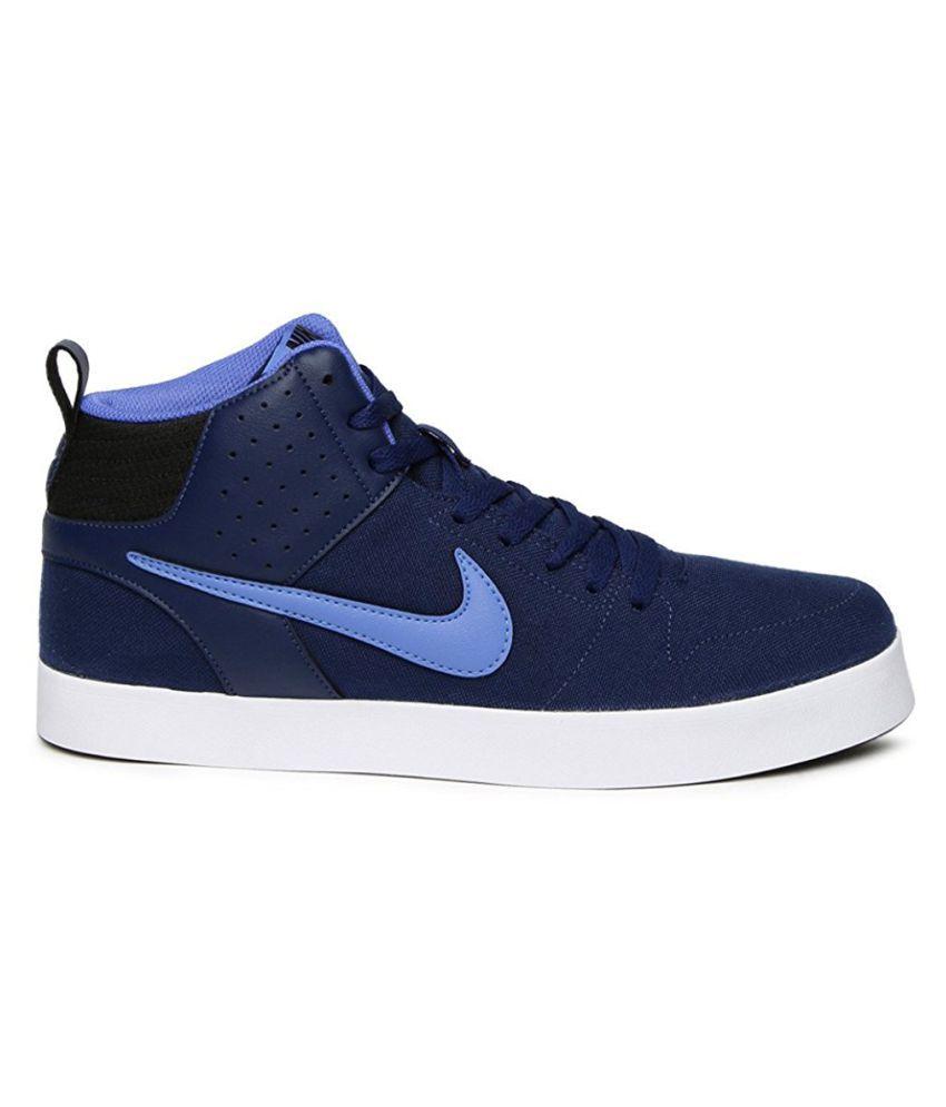 ... Nike Liteforce III MID Sneakers Blue Casual Shoes ...
