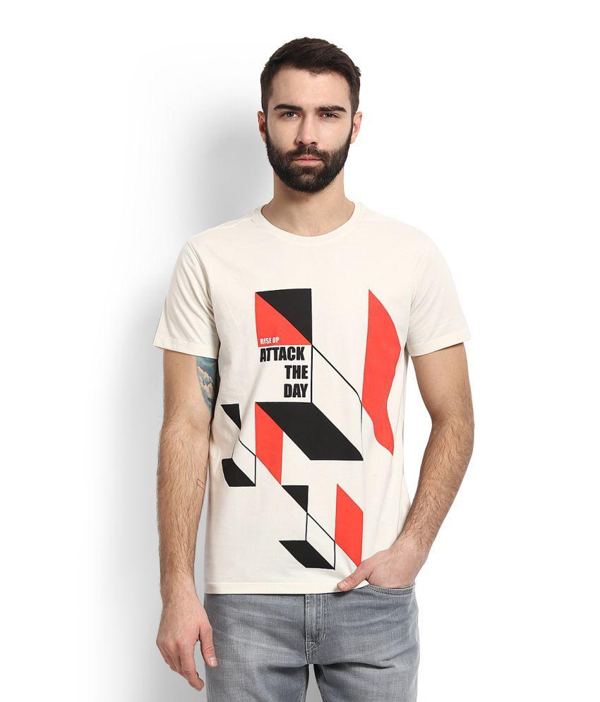 Peter England Men T Shirts