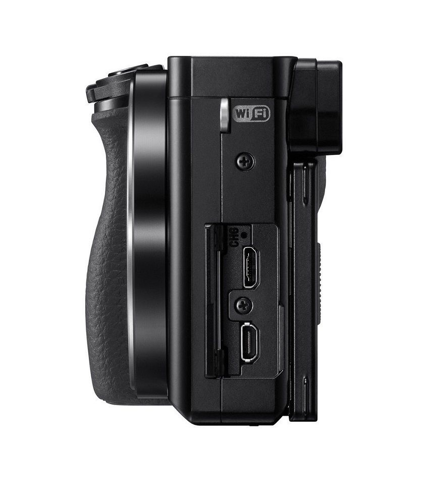 sony digital slr camera. sony alpha a6000l 24.3mp digital slr camera (black) with 16-50mm lens slr