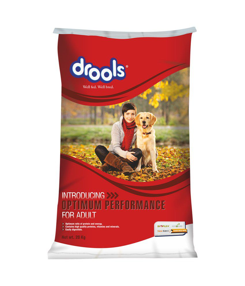 Drools Optimum Performance Chicken Based Adult Dog Food - 20 Kg