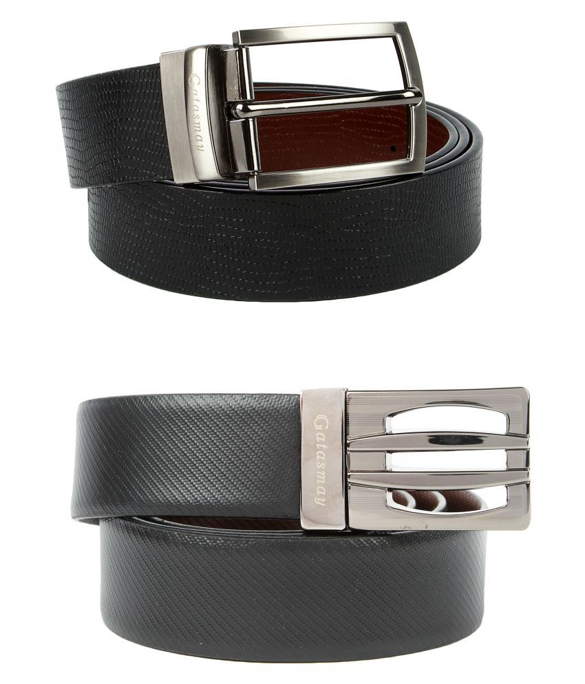 Gatasmay Multi Leather Combo Belts