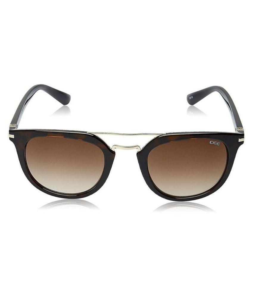 Idee Brown Round Sunglasses ( S2140 C153 )