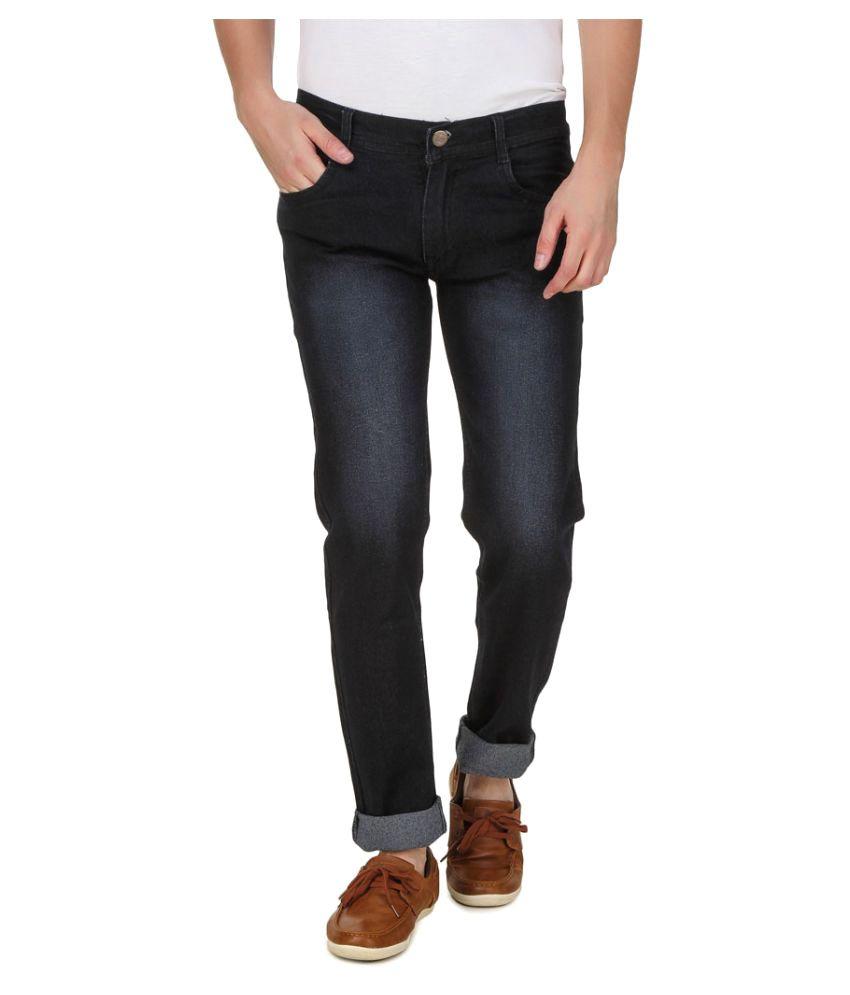 Haltung Black Regular Fit Jeans