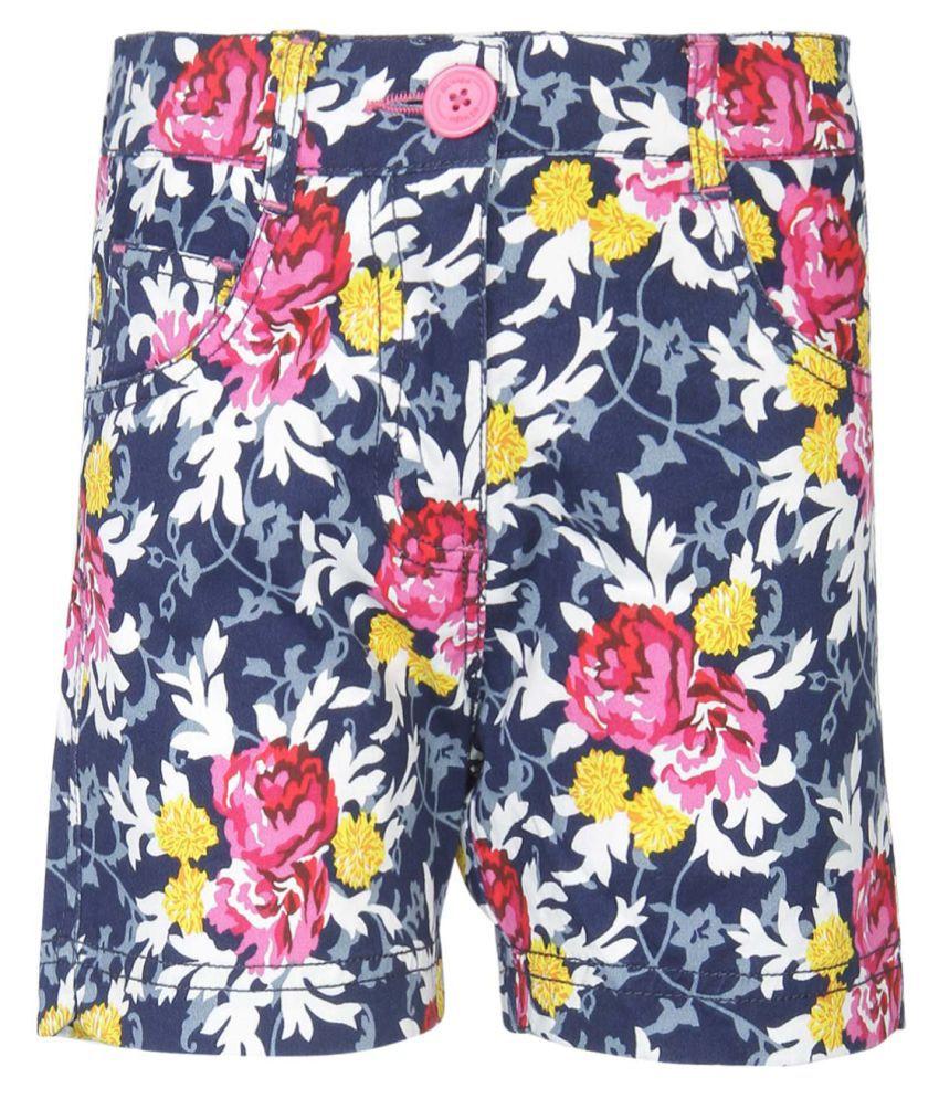 612 League Navy Hot Pants