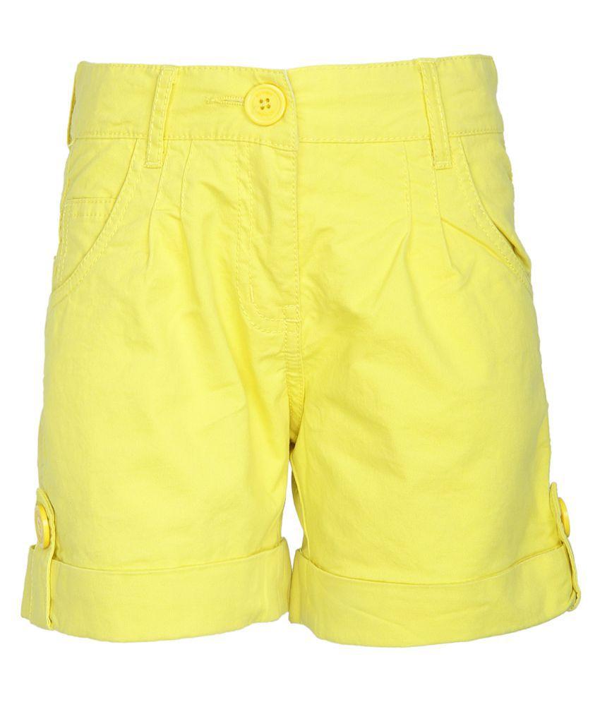 612 League Yellow Bermudas