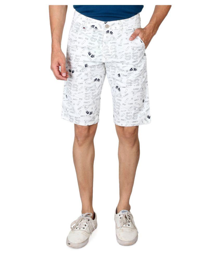 Kara69 White Shorts