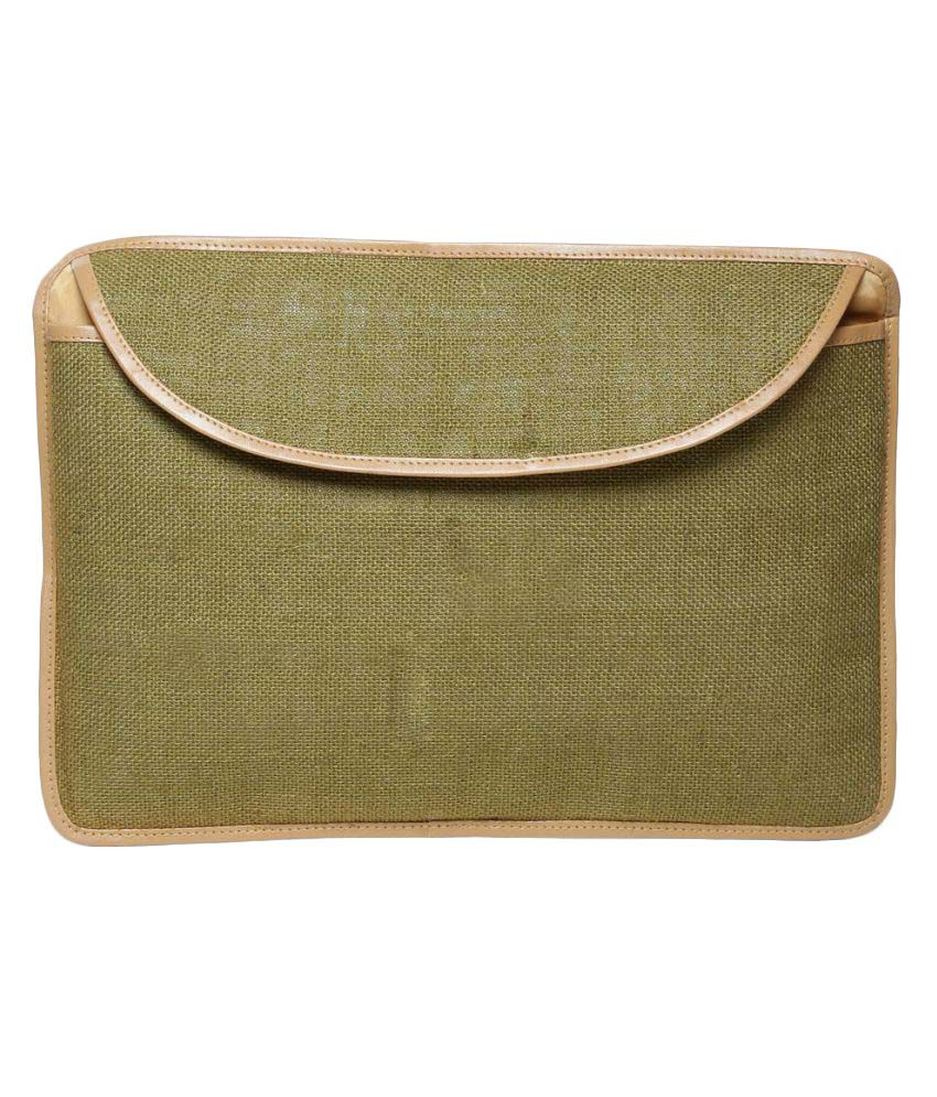 Campus Sutra Green Laptop Cases