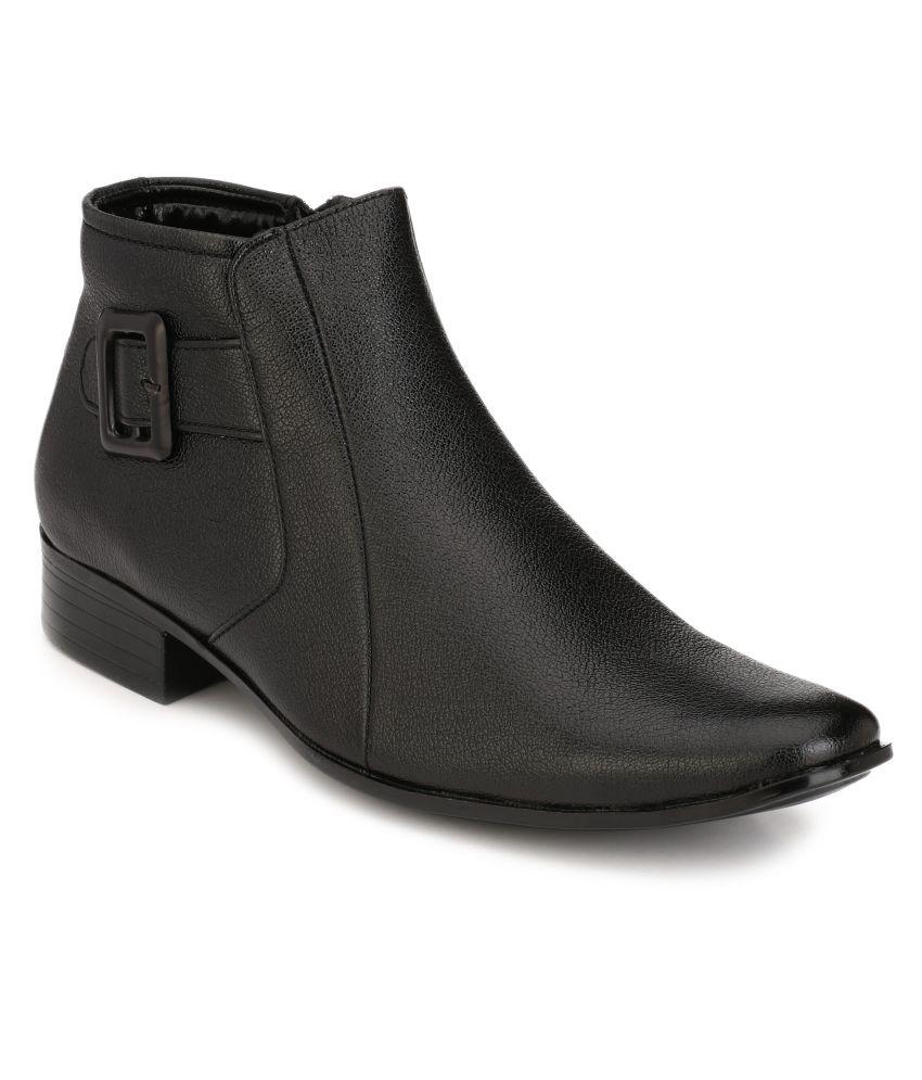 Franklien Black Formal Boot