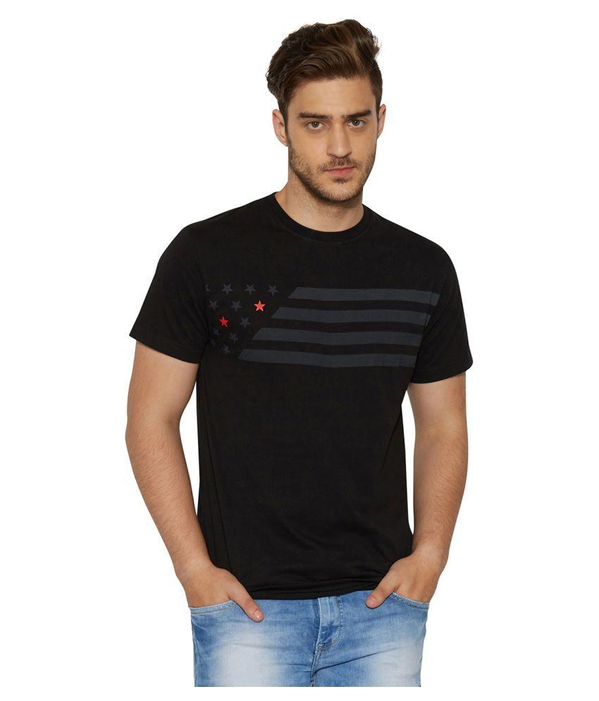 Globus Black Round T-Shirt