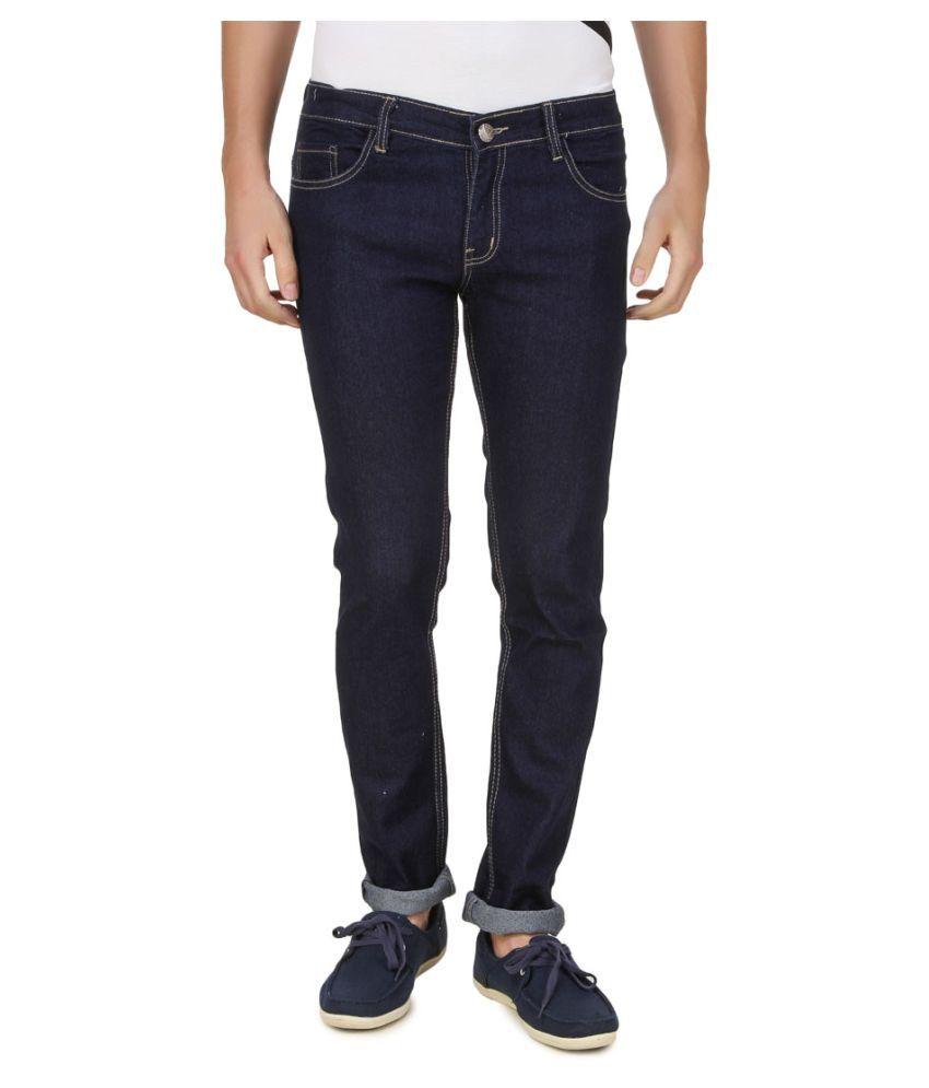 Haltung Navy Blue Slim Jeans
