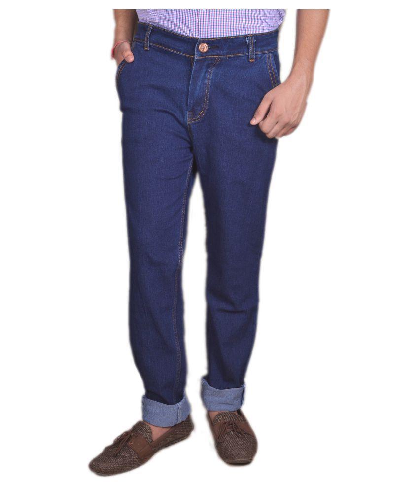Absolute Dark Blue Slim Jeans