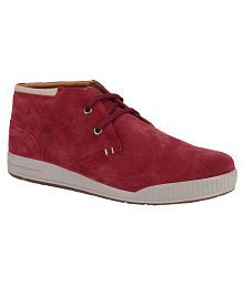 Woodland OGC 1992116-RED Lifestyle Red Casual Shoes
