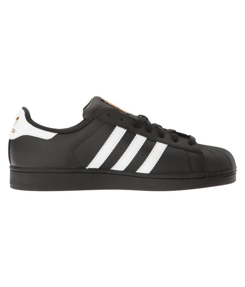Adidas Superstar Sneakers Black Casual Shoes - Buy Adidas ...