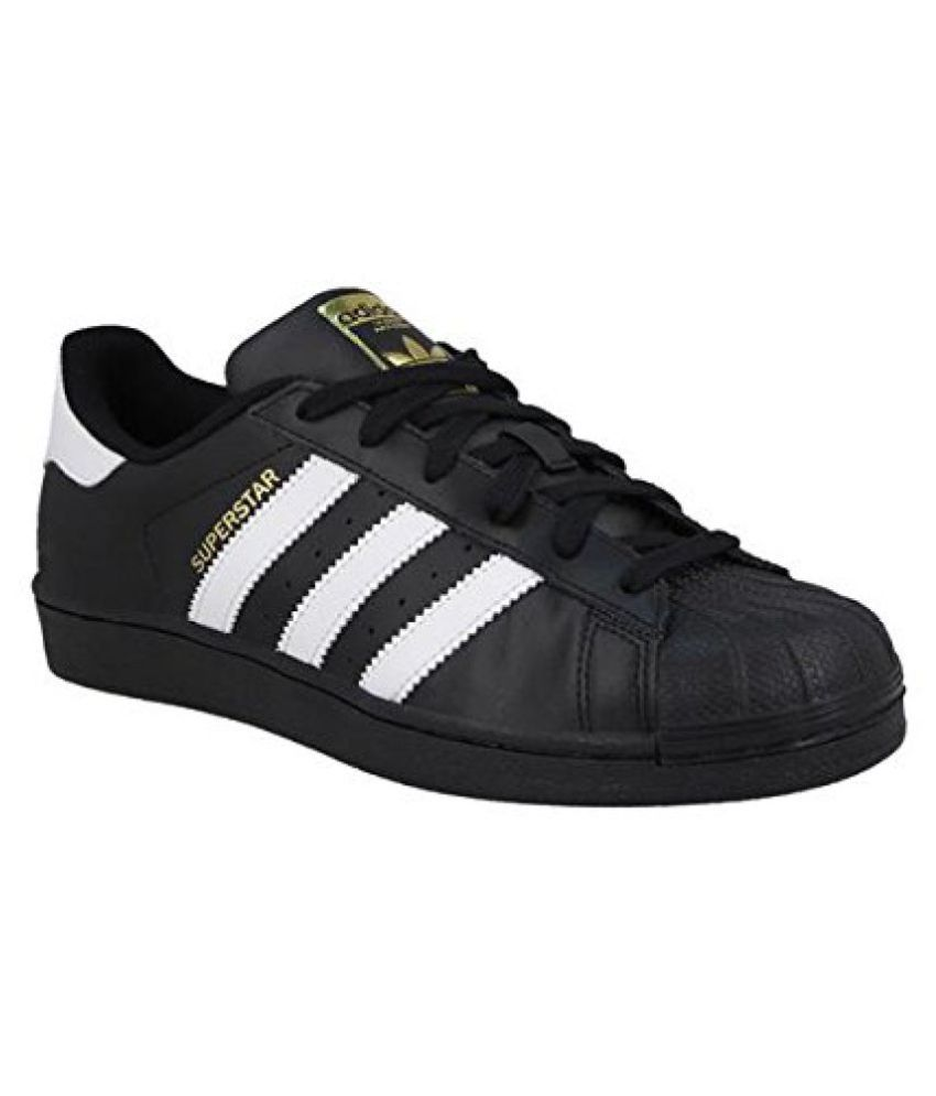 best service 1c99b 62f57 Adidas Superstar Sneakers Black Casual Shoes - Buy Adidas Superstar  Sneakers Black Casual Shoes Online at Best Prices in India on Snapdeal
