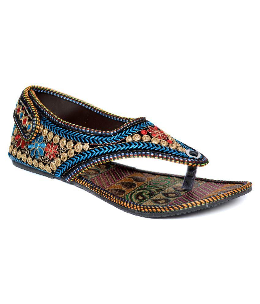 Indirang Multi Color Flat Heels