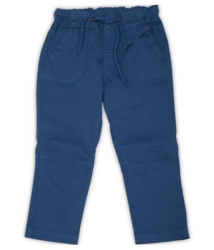 FS MiniKlub Blue Cotton Chinos