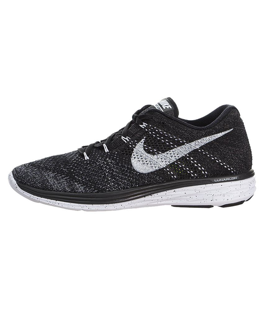 Nike Free   Flyknit Black Running Shoes India