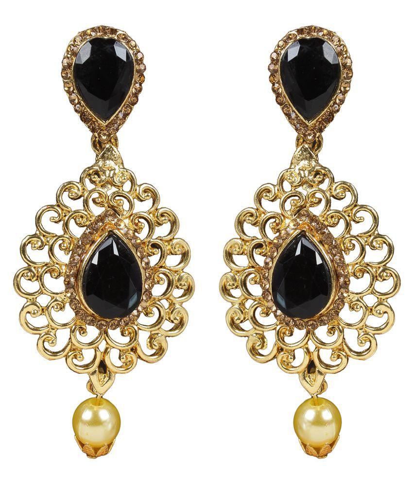 Penny Jewels Alloy Party Wear & Wedding Hanging Earrings For Women