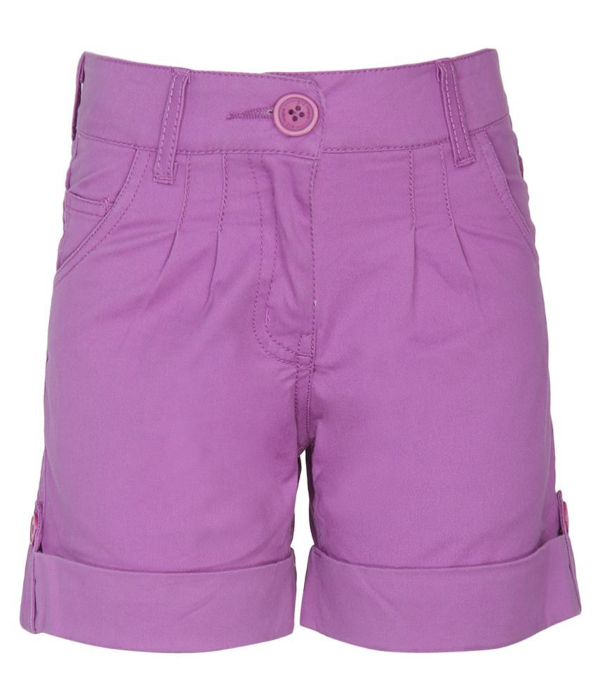 612 League Purple Bermudas
