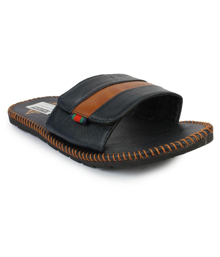 29622364a Appe Black Slide Flip flop Price in India- Buy Appe Black Slide Flip flop  Online at Snapdeal
