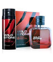 WILD STONE ULTRA SENSUAL PERFUME & BODY DEODORANT {50 ML + 150 ML} {1 + 1}