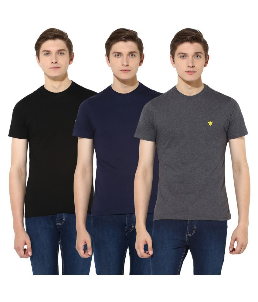 Turtle Multi Round T-Shirt Pack of 3