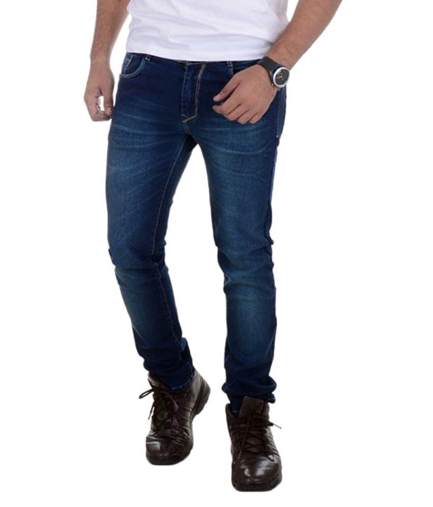 Cazzano Blue Slim Jeans