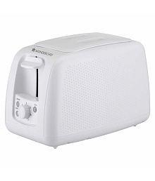 Wonderchef Monochrome White 780 Watts Pop Up Toaster