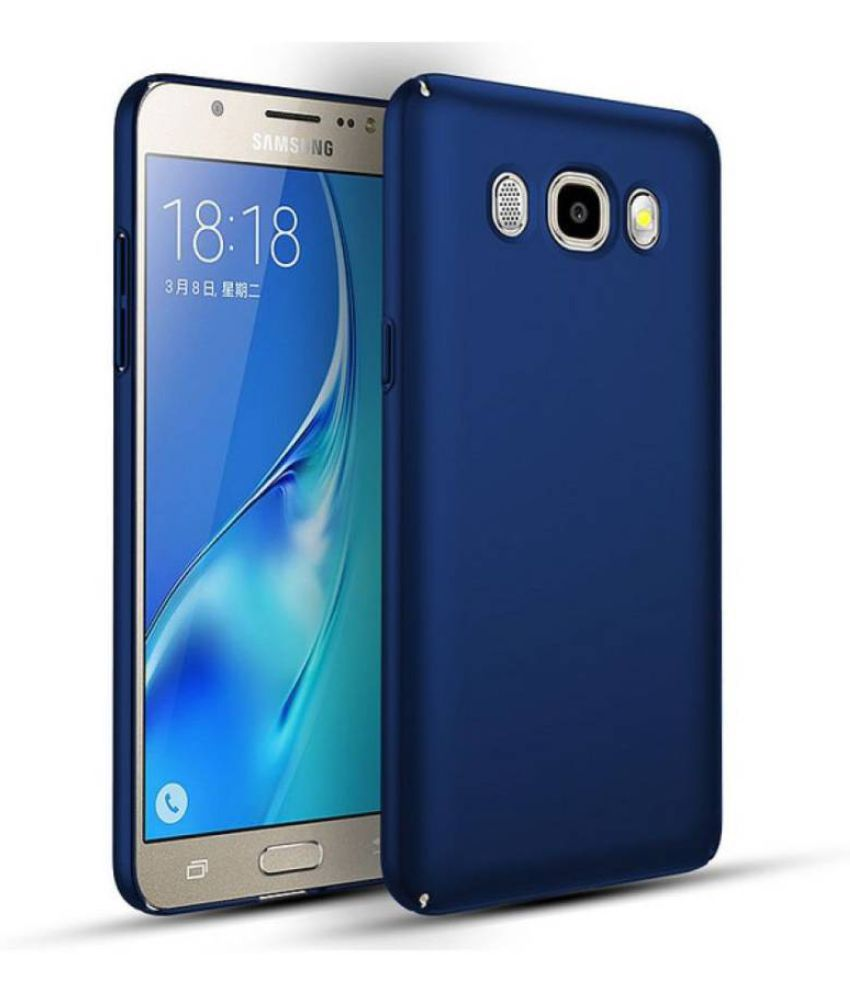 new arrival afb55 eef98 Samsung Galaxy On8 Plain Cases Perfect - Blue