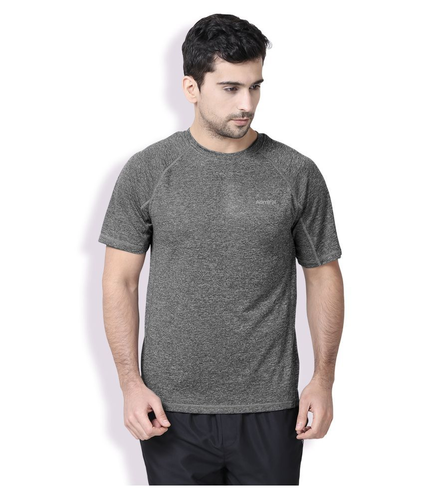 Admiral Grey Polyester T-Shirt