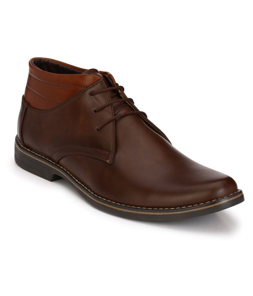 Leeport Brown Casual Boot