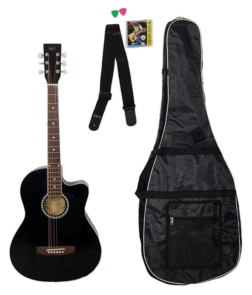 b4c7c00fdb4 Tilak Raj & Sons Kaps ST-1CM Black Acoustic Guitar - Buy Tilak Raj & Sons  Kaps ST-1CM Black Acoustic Guitar Online at Best Prices in India on Snapdeal