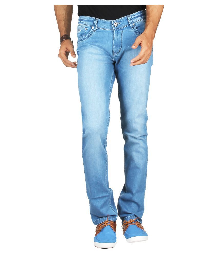 DFU Jeans Light Blue Regular Fit Jeans