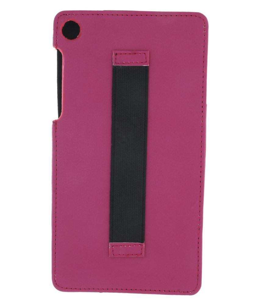 new style 6ce4c 539a5 Lenovo Tab 3 730X Plain Back Cover By Celzo Pink
