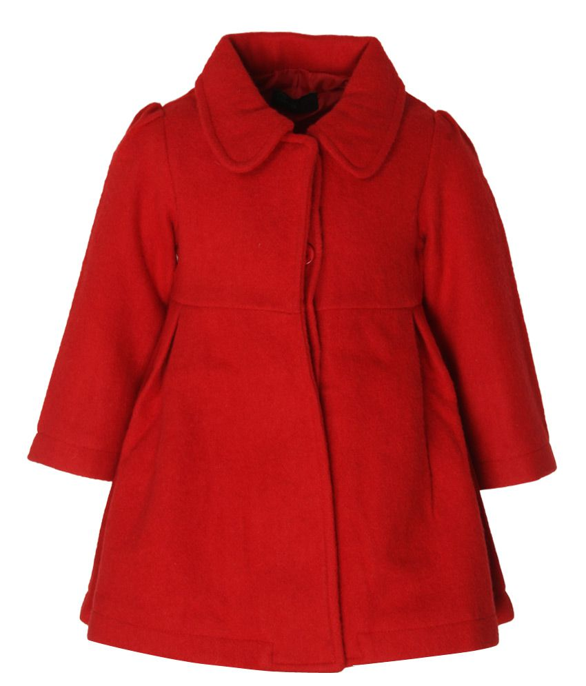 United Colors of Benetton Red Girls Coat