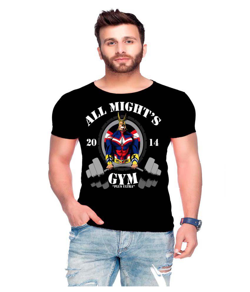 Raves Black Round T-Shirt