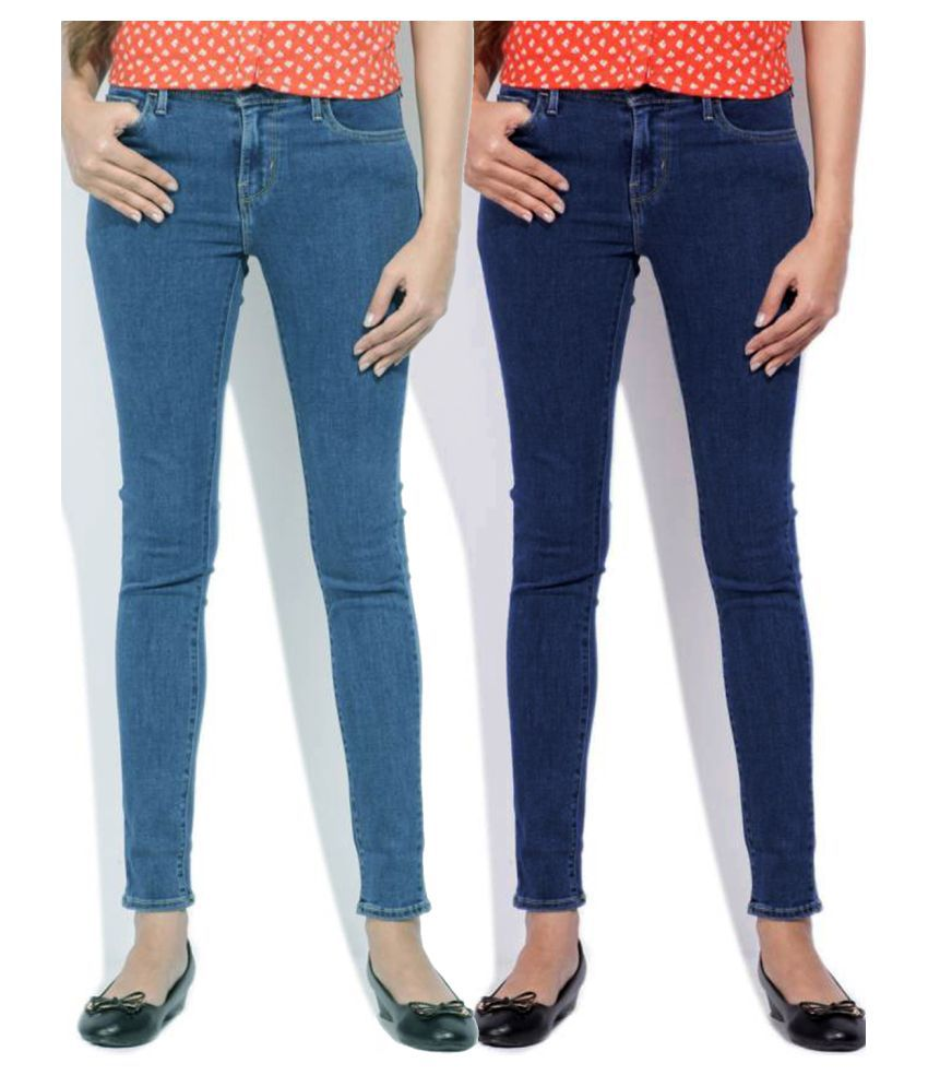 Masterly Weft Denim Lycra Jeans