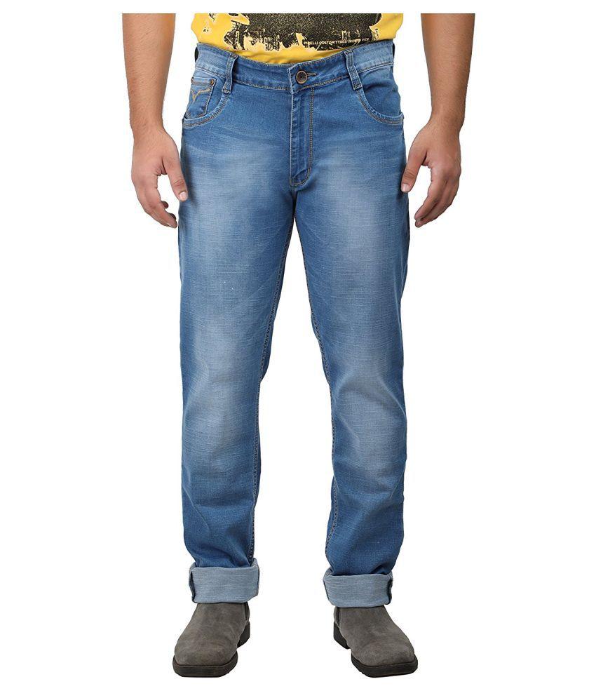 Saba Blue Regular Fit Jeans